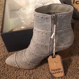 Hippy Laundry gray boots